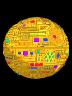 This is the DeathStar I'll build you, Amanda. If you'll just stop being crazy. Courtesy twitgoo.com