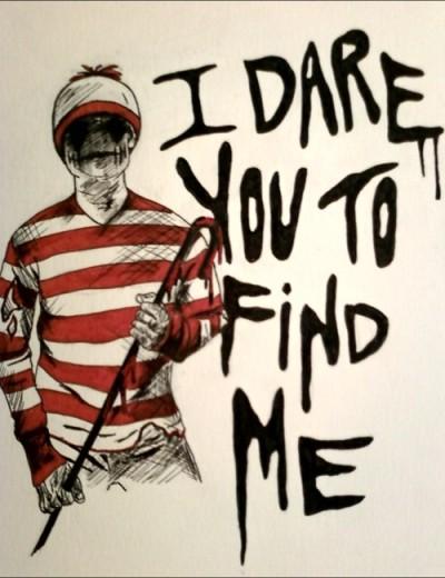 Where's Waldo? Right behind you, sucka. Courtesy thexenon.tumblr.com